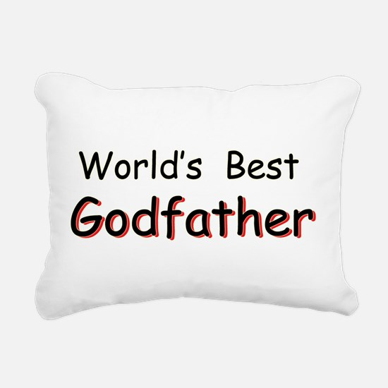 Worlds Best Godfather Rectangular Canvas Pillow