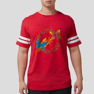 For The Love Of Art Mens Football Shirt