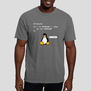 rm_rf_windows_black Mens Comfort Colors Shirt