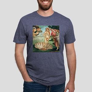 Birth of Venus by Botichell Mens Tri-blend T-Shirt