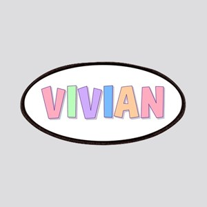 Vivian Rainbow Pastel Patch