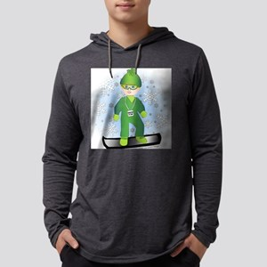 4x4_snowboard_blboy Mens Hooded Shirt