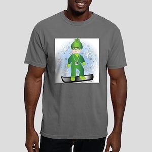 4x4_snowboard_brboy Mens Comfort Colors Shirt