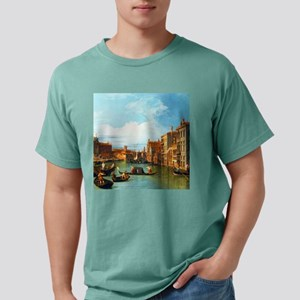Grand Canal in Venice by Mens Comfort Colors Shirt