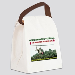 5th INFANTRY DIVISION VIETNAM Canvas Lunch Bag