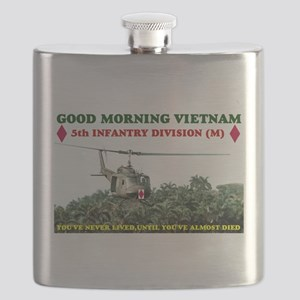 5th INFANTRY DIVISION VIETNAM Flask