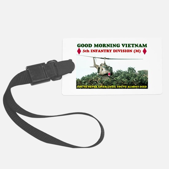 5th INFANTRY DIVISION VIETNAM Luggage Tag