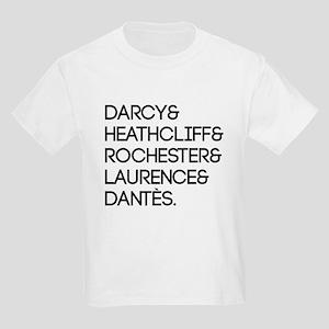 Literary Men Kids Light T-Shirt