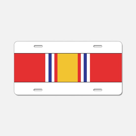 Cute National defense Aluminum License Plate