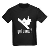 Snowboarding Kids T-shirts (Dark)