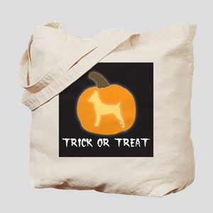 "Toy Fox Terrier ""Trick or Treat"" Tote Bag"