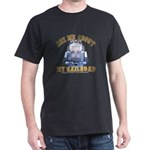 Ask Me about RR Train Dark T-Shirt
