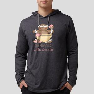 little sweetie nonna Mens Hooded Shirt