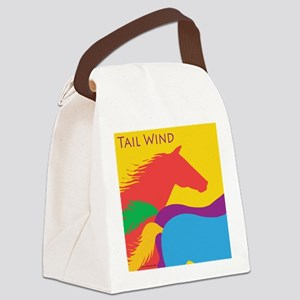 Tail Wind Canvas Lunch Bag