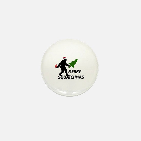 Merry Squatchmas Mini Button