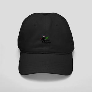 Merry Squatchmas Black Cap