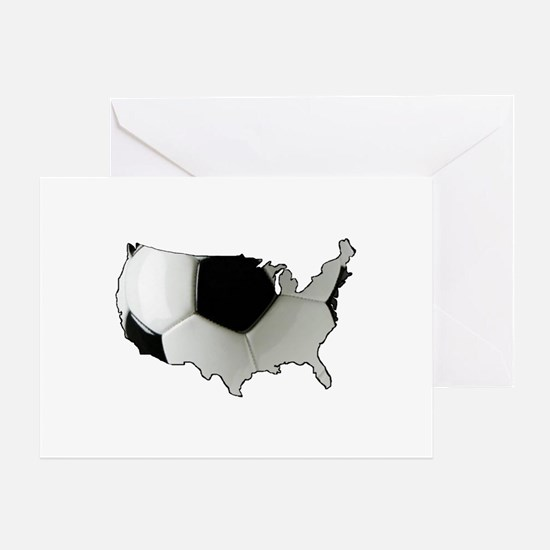 American Soccer Greeting Card