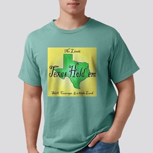 texasholdemshirt Mens Comfort Colors Shirt