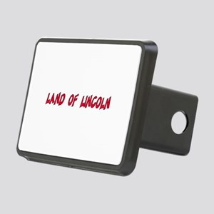 Small Land Of Lincoln Rectangular Hitch Cover