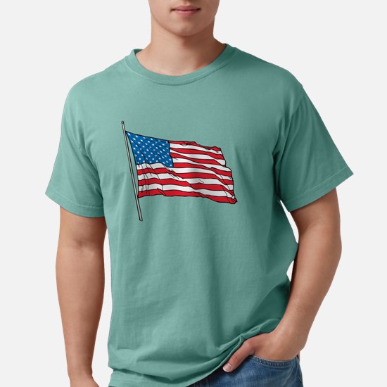 proud to be an american Mens Comfort Colors Shirt