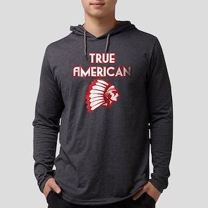 True American Mens Hooded Shirt