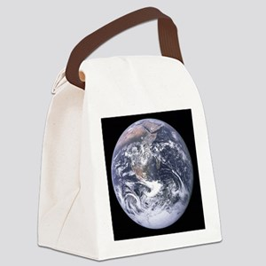 Apollo 17 View of Earth Canvas Lunch Bag