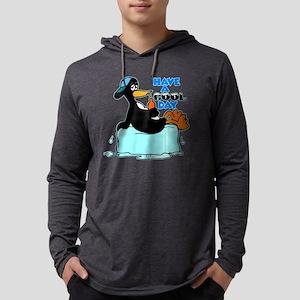 10x10_apparel cooldaypenguin cop Mens Hooded Shirt