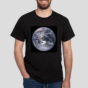 Apollo 17 View of Earth Dark T-Shirt