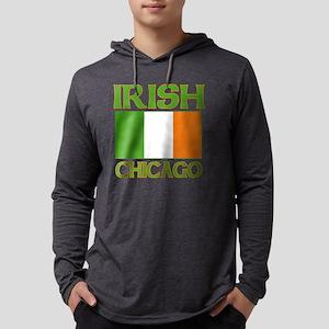 irishchicago Mens Hooded Shirt