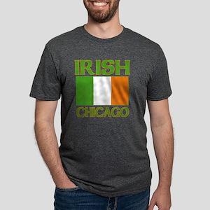 irishchicago Mens Tri-blend T-Shirt