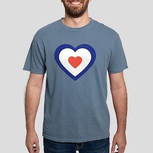 Mod Heart Mens Comfort Colors Shirt