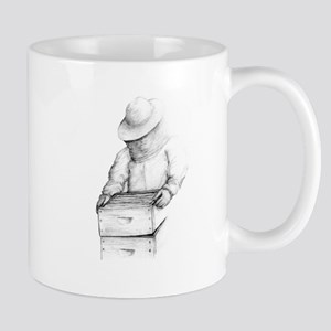 beekeeper 2Bpencil final Mugs