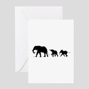 Elephant Card Greeting Cards