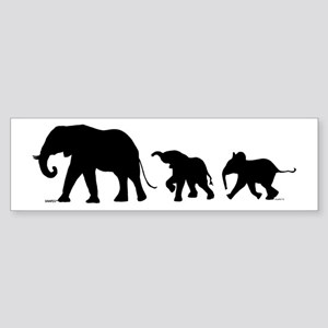 Elephant (bumper) Bumper Sticker