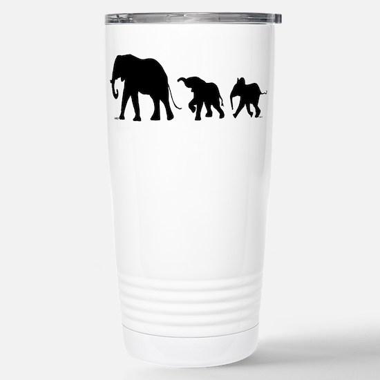 Elephant Stainless Steel Travel Mug