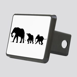 Elephant Rectangular Hitch Cover