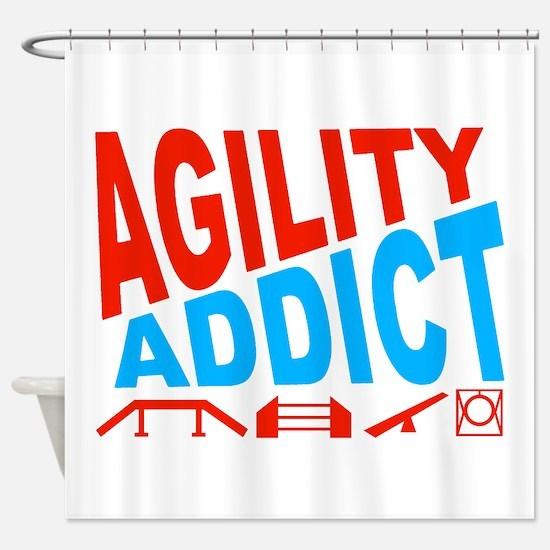 Agility Addict-2 Shower Curtain