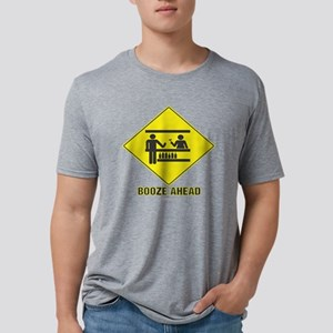 10x10_apparel boozeahead co Mens Tri-blend T-Shirt