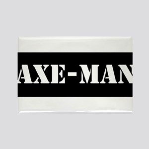Axe-man Rectangle Magnet