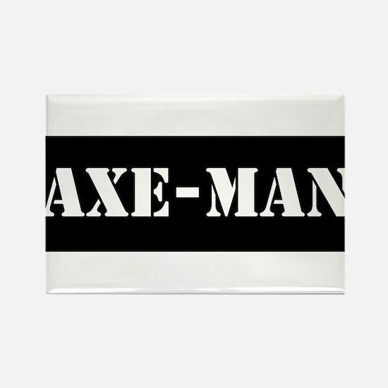 Axe-man Rectangle Magnet