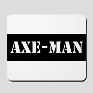 Axe-man Mousepad