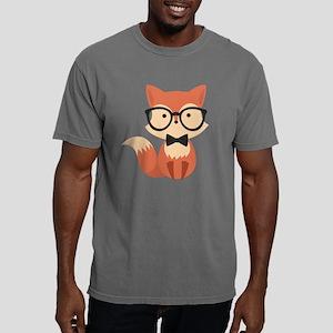 Cute Hipster Fox Mens Comfort Colors Shirt