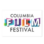 Columbia Film Festival Postcards (package Of 8)