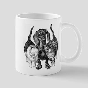 Dachshund & Friend Mug