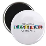Columbia Festival 2021 Logo Magnets