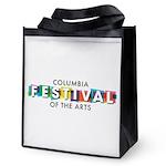 Columbia Festival 2021 Logo Reusable Grocery Bag