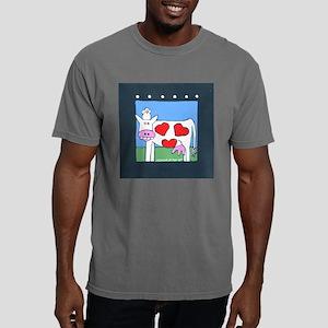 cowVALENTINE Mens Comfort Colors Shirt