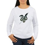 Katana Snake Women's Long Sleeve T-Shirt