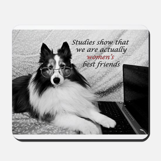Woman's Best Friend Mousepad