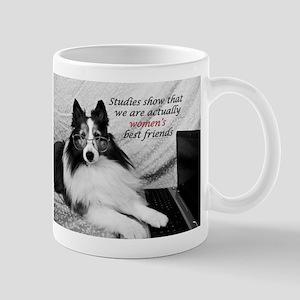 Woman's Best Friend Mug